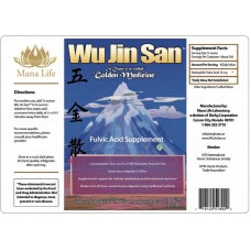 Wu Jin San (Golden Medicine) Fulvic Acid - 1 Gallon