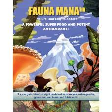Fauna Mana Medicinal Mushroom Blend  200 Grams